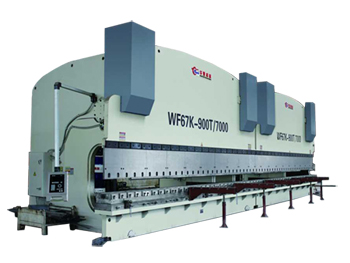 2-WF67K(Y) series CNC Control Bending Press Brake